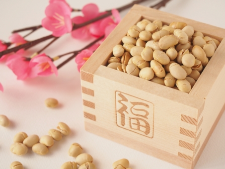Setsubun -Japanese traditional scatter beans