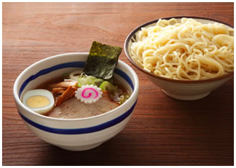 Cheap and tasty Japanese style ramen noodle in central Tokyo